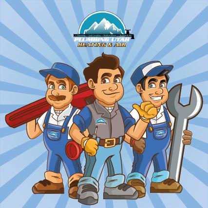 plumbing-heating-company-mascots